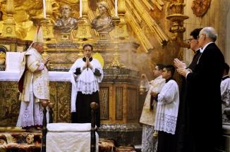 #sumpont2015 Friday Mass